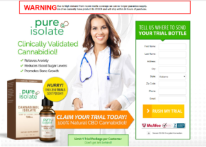 Pure Isolate Cannabinol Isolate Review